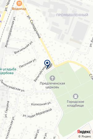 ПТФ ДОЦЕНКО на карте Гатчины
