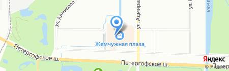 HENDERSON на карте Санкт-Петербурга