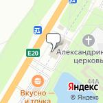 Магазин салютов Горелово- расположение пункта самовывоза