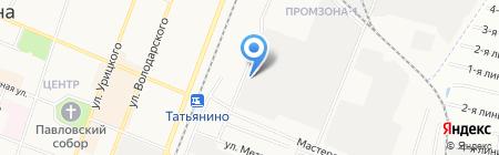 СТРОММАШ на карте Гатчины