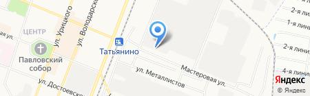 ПРОСИТ на карте Гатчины