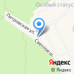 Особый статус на карте Санкт-Петербурга