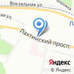 Дом стекла на карте Санкт-Петербурга
