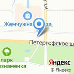 Фаерлэнд на карте Санкт-Петербурга