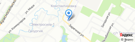 Детский сад №59 на карте Санкт-Петербурга