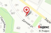 Схема проезда до компании Торгово-производственная компания в Архангельском