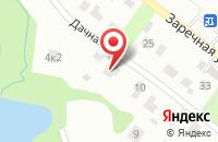 Схема проезда до компании Кулон Истра в Давыдовском