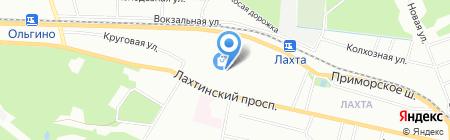 Сапожник и Ключник на карте Санкт-Петербурга