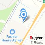 Райская усадьба на карте Санкт-Петербурга