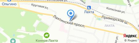 Izburg на карте Санкт-Петербурга