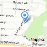 Ольгино на карте Санкт-Петербурга