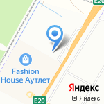 Деревянный дом на карте Санкт-Петербурга