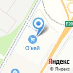 Цветочный город на карте Санкт-Петербурга