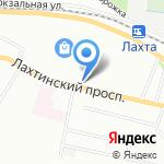 Торсион на карте Санкт-Петербурга