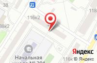 Схема проезда до компании Подъемэлектро-Сервис в Санкт-Петербурге