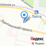 РУМАКС на карте Санкт-Петербурга
