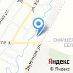 Сармат на карте Санкт-Петербурга