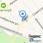 Почтовое отделение №758 на карте Санкт-Петербурга
