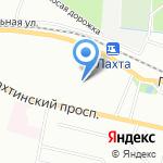 ТРИФ на карте Санкт-Петербурга