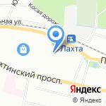 ВЭЭК на карте Санкт-Петербурга