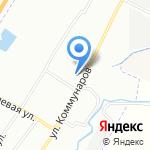 Нева на карте Санкт-Петербурга