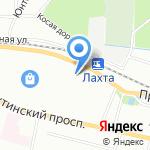 Северная флора на карте Санкт-Петербурга