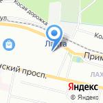 BRP-центр на карте Санкт-Петербурга