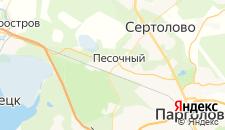 Отели города Песочный на карте
