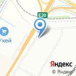 Единение на карте Санкт-Петербурга
