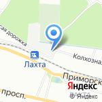 Лахта-спорт на карте Санкт-Петербурга