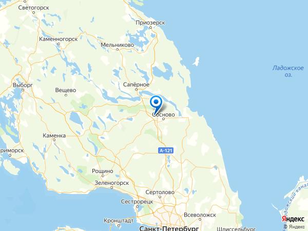 деревня Раздолье на карте