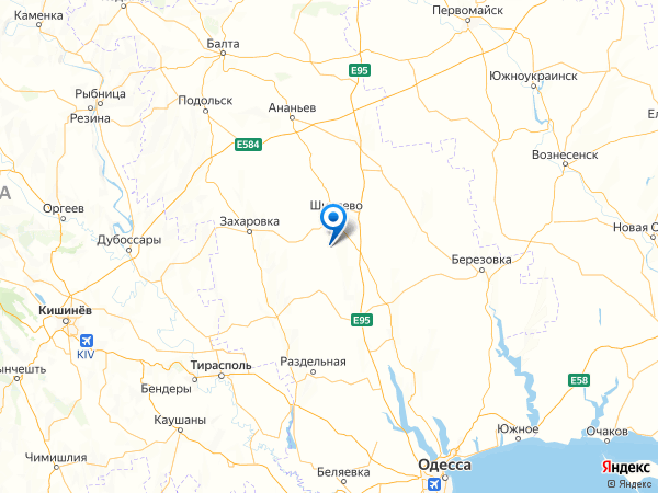 село Жуковское на карте