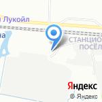 АЗС Лигово на карте Санкт-Петербурга