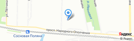 Детский сад №79 на карте Санкт-Петербурга