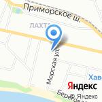 Пожарно-спасательная часть №76 на карте Санкт-Петербурга