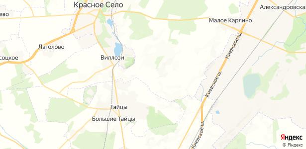 Карвала на карте