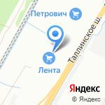 Золотой мир на карте Санкт-Петербурга