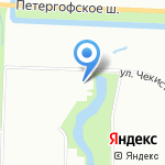 Компо-Питер на карте Санкт-Петербурга