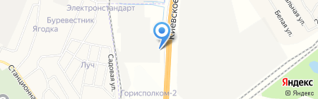 ТАМАРИКС Лоджистикс на карте Гатчины