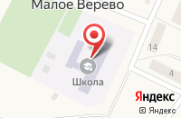 Схема проезда до компании Веревская средняя общеобразовательная школа в Вайе