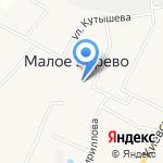 Веревская средняя общеобразовательная школа на карте Санкт-Петербурга