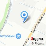 Грузовой рай на карте Санкт-Петербурга