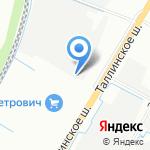 СтальДизайн на карте Санкт-Петербурга