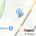 НевоСвар на карте Санкт-Петербурга
