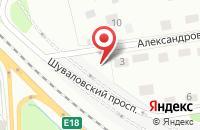 Схема проезда до компании ПОКРОФФ-САРАТОВ в Новогусельском