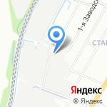 ТИТАН на карте Санкт-Петербурга