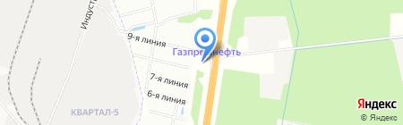 АЗС Волганефтепродукт на карте Гатчины