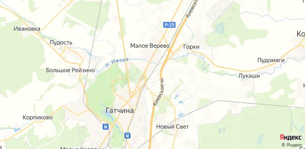 Ивановка на карте