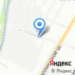 Арсенал на карте Санкт-Петербурга