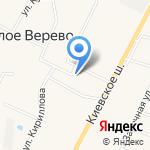 Универмаг на карте Санкт-Петербурга